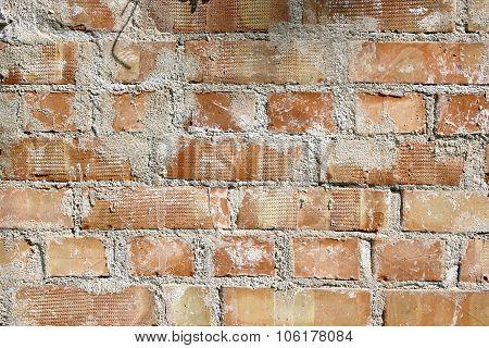 Texture Of Real Brick Wall