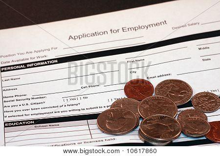 Pedido de emprego emprego App