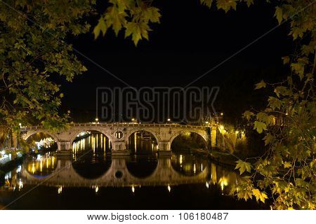 Tevere Bridge (tiber)