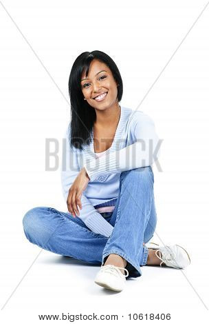 Relaxing Young Woman