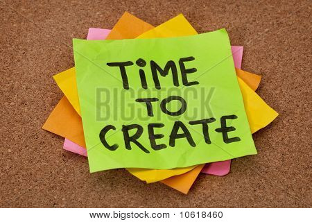 Time To Create