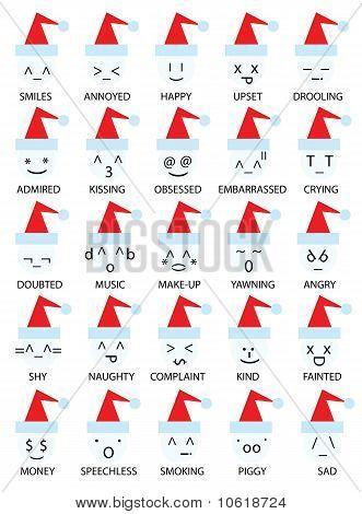 Christmas Emoticons Smiley