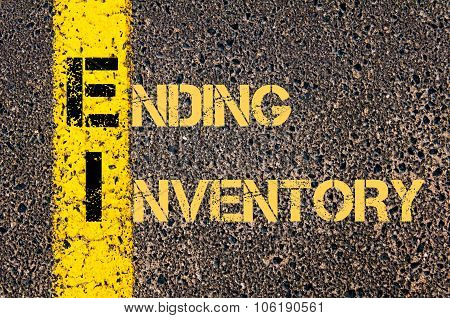 Business Acronym Ei As Ending Inventory
