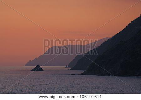 Monesteroli At Sunset