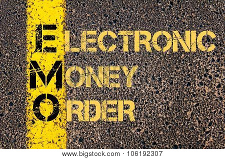 Business Acronym Emo As Electronic Money Order