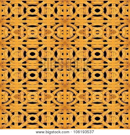 Geometric Arabesque Seamless Pattern