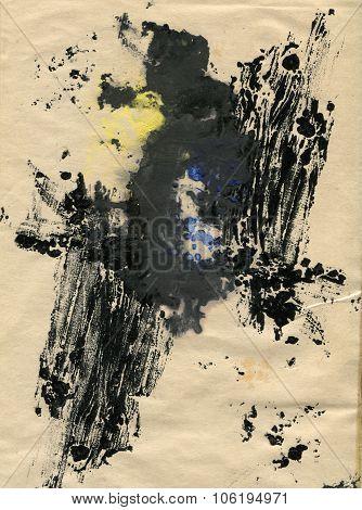 Monoprint background