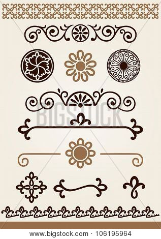 Dividers, Borders And Decorations