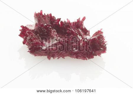 Red Crystals Isolated