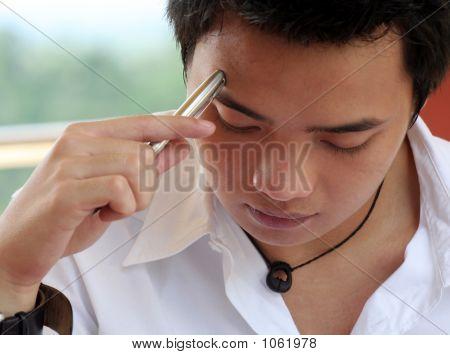 Asian Male Thinking