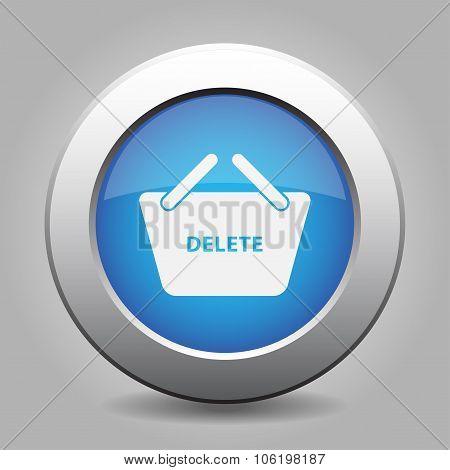 Blue Button - Shopping Basket Delete
