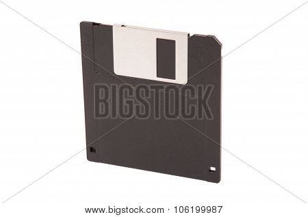 Old Diskette Isolated