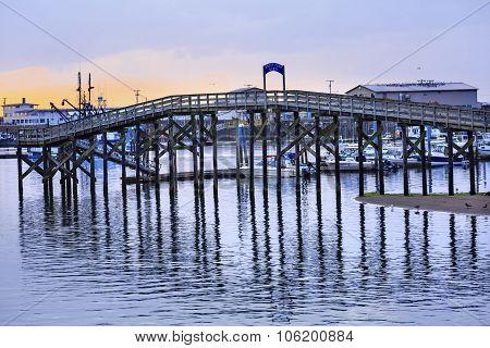 Wooden Bridge Westport Grays Harbor Washington State