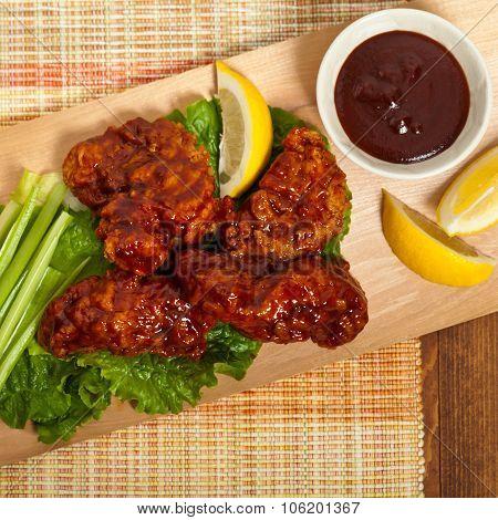 Boneless Buffalo Chicken