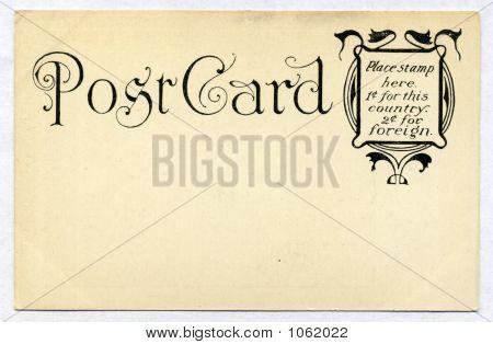 Antique Card Ephemera Circa 1905