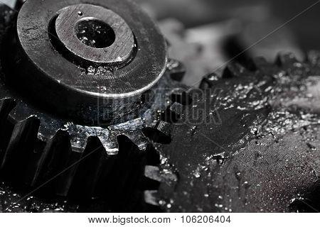 Gear Train In Machine Construction