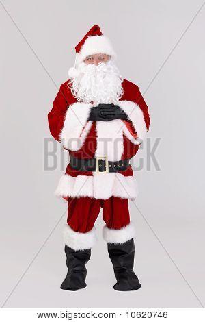 Full Size Portrait Of Santa Claus