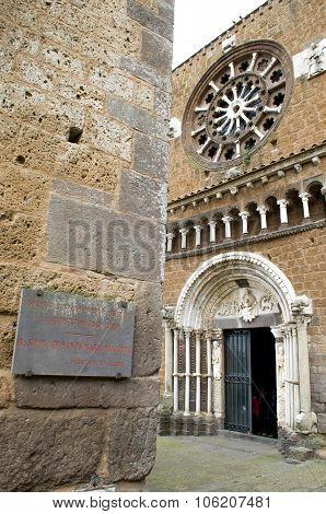 Tuscania - Santa Maria Maggiore Church - Viterbo, Lazio (italy Travel)