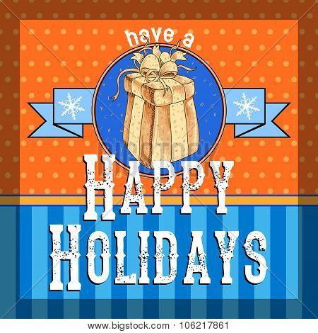 Design Christmas card