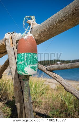 Old Weathered Lobster Buoy