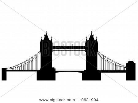 伦敦塔桥-矢量 库存矢量图和库存照片