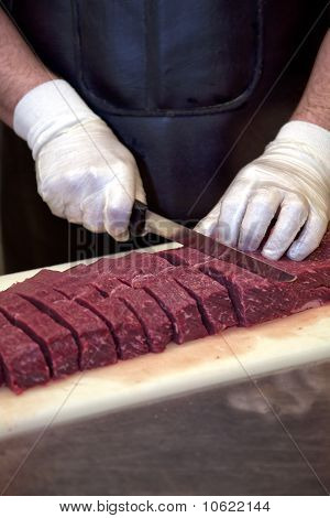 Slicing Meat