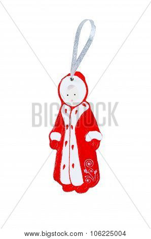 Christmas Wooden Toy - Snow Maiden.