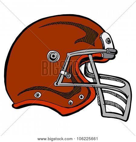 An image of a football helmet.