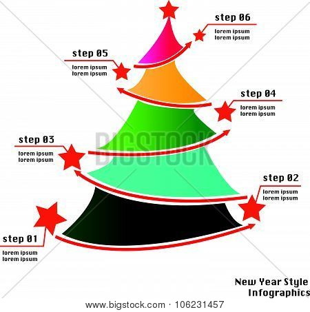 New Year/christmas Info Graphics