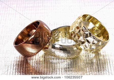 Three female bangles