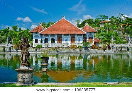 Ujung Water Palace Showplace In Karangasem Regency. Bali, Indonesia