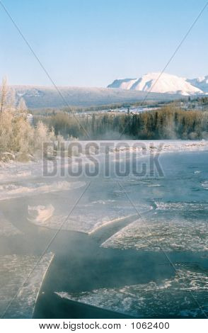 Wilderness River Icefloes