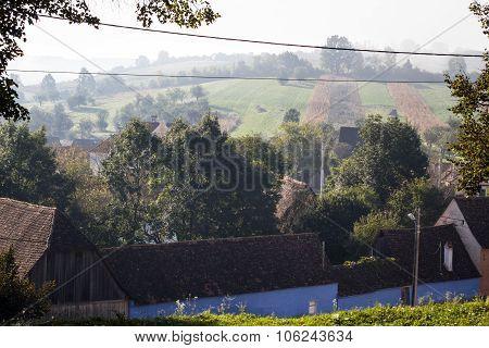 Traditional Saxon Village Houses