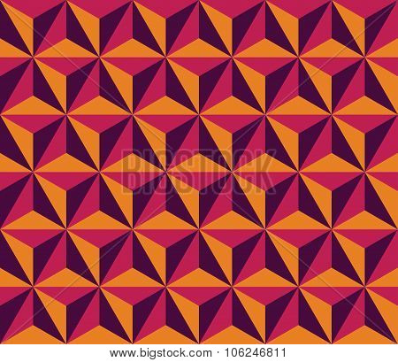Vector modern seamless colorful geometry triangol hexagon pattern color abstract