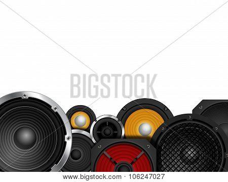 Speakers Border