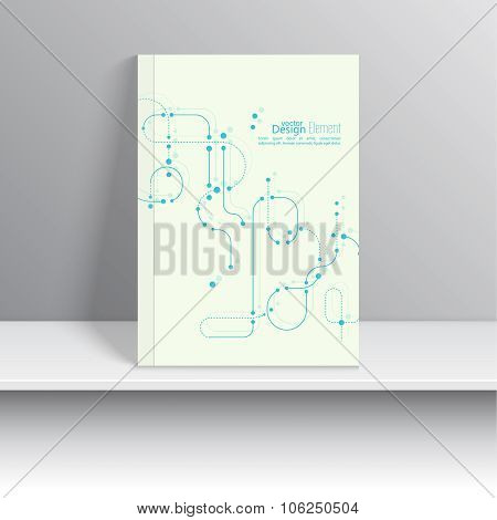 Magazine Cover vector