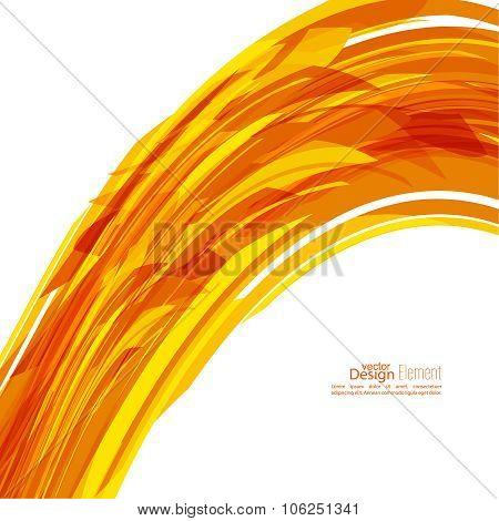Tangled geometric stripes
