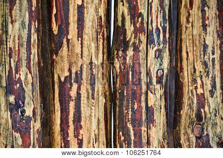 Mottled Wooden Background