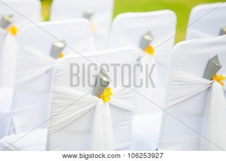 Chair Setup For Wedding