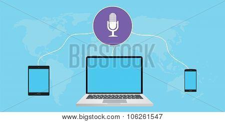 listening podcast