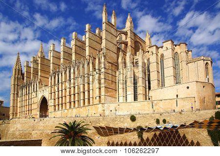Catedral de Santa Maria de Palma de Mallorca.