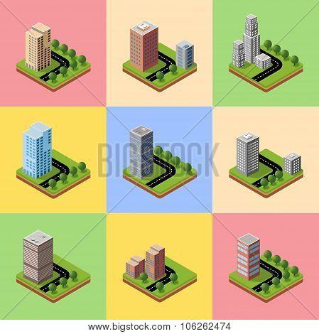 A set of isometric