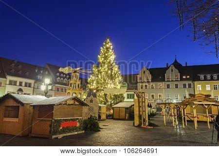 Christmas Market On Marktplatz