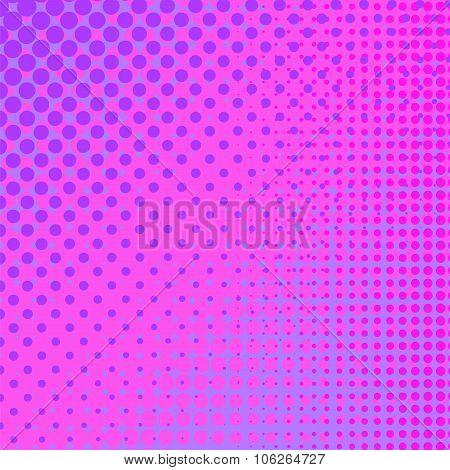 Pink Halftone Pattern
