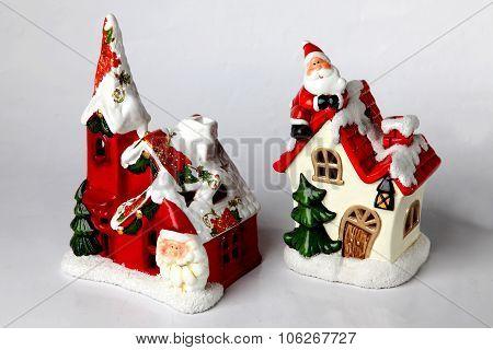 Candleholder Christmas Subjet A