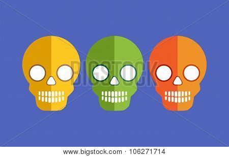 Skulls for Halloween