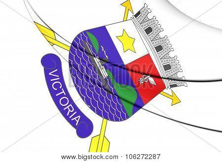 Flag Of Vitoria (espirito Santo), Brazil.