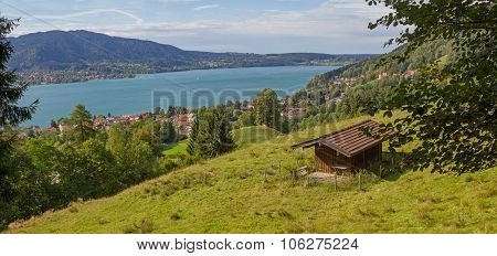 View To Lake Tegernsee And Spa Town