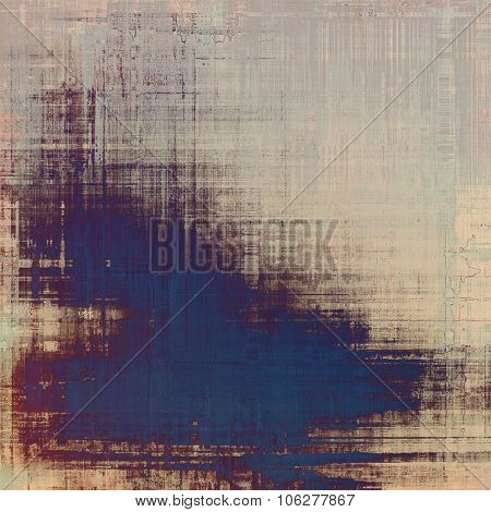 Old texture with delicate abstract pattern as grunge background. With different color patterns: yellow (beige); brown; blue; purple (violet)
