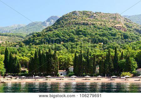 Elite Beach Of Queen (kraljicina Plaza), Milocer, Montenegro